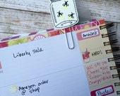 Firefly planner clip ~ mason jar bookmark ~ planner accessories ~ lightning bug feltie ~ firefly paperclip ~ planner paperclip
