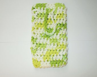 Soap Saver Sack-Crochet-Limeade
