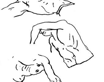 Original Drawing - Male 01