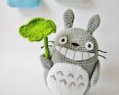 Totoro - PDF Crochet Pattern