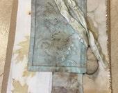 Botanical and Rust Dye Print Fabric Packet