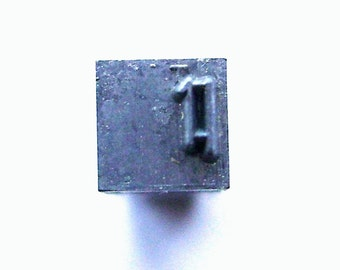 Vintage Japanese Typewriter Key - Japanese Stamp - Kanji Stamp - Chinese Character - Metal Stamp - Vintage Stamp -   Mouth