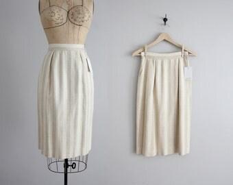 striped pencil skirt / Christian Dior skirt / striped skirt