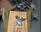 CS15 - Jackdaw Charm by Experimetal - Articulated Bird Pendant