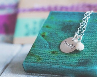 One Little Word Necklace {Sterling Silver}