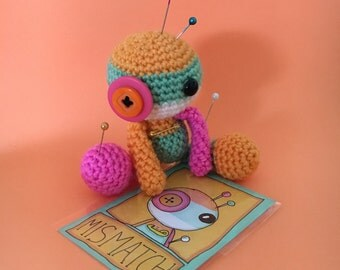 Mismatch the Amigurumi Voodoo Doll