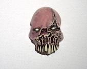 Pink Undead Zombie Zombie Head Pendant