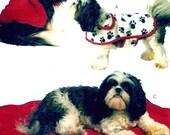 Dog coat pattern pet mats fashion DIY animal wear sewing pattern McCalls 5738 XS to Lg Crafts sewing pattern UNCUT