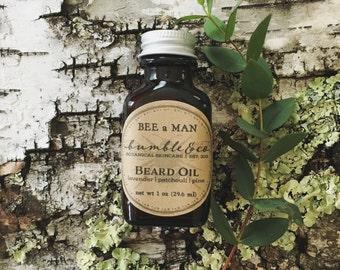 Beard Grooming Gift | Beard Oil | Herbal Beard Oil | Beard Care | Beard Conditioner | Natural Beard Oil | Beard Conditioning | Grooming Gift