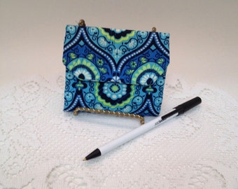 """Amy Butler Quilted Fabric Mini-Wallet """"FREE Domestic Shipping"""""""