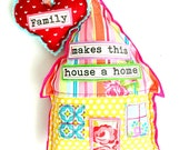 Hang Some Happiness -- Home & Heart Decor -- Family Makes This House a Home