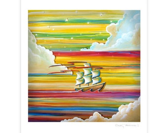 Seafarer Series Limited Edition - Off To Neverland - Signed 8x10 Semi Gloss Print (3/10)