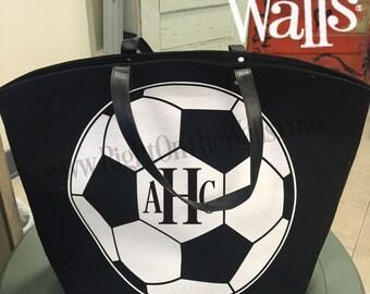 SALE!! xLarge Soccer Bag, Soccer Mom, Soccer Tote, Sports Bag, Gym Bag, Soccer Tote Bag