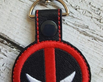 D - Pool Key Fob * Key Chain * Zipper Pull * Party Favors