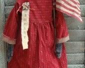 Primitive Americana Miss Liberty Doll