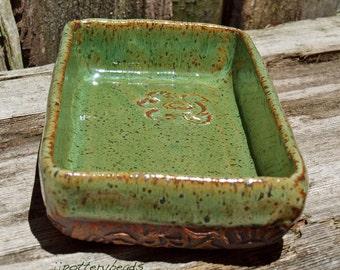 Pottery Serving Dish, Handmade serving dish, Stoneware Tray, Handmade Tableware, Ceramic Tray