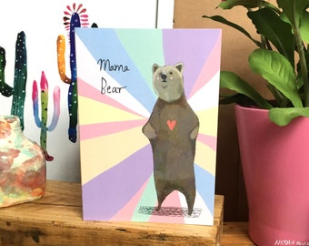 Mama Bear card cc184