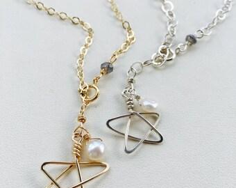Star Bracelet, Star Charm Bracelet, Handmade Star Bracelet, Charm Bracelet, Adjustable Charm Bracelet