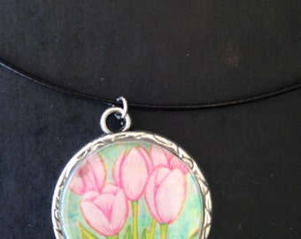 Grow Tulip Necklace