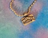 Explore  necklace or bracelet