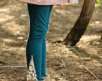 Organic Lace Slice leggings
