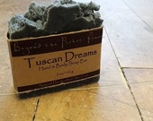 Anise and Orange Essential oil Soap with charcoal - Tuscan Dream