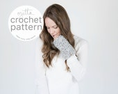 Pattern / Ozetta Wrist Warmers Fingerless Mittens Pattern Instant Download For The Oxfords
