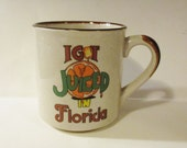 I Got Juiced in Florida Souvenir Ceramic Coffee Mug