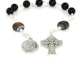 Saint Peter & Saint Paul Anglican Pocket Rosary, Christian Prayer Beads