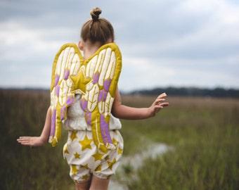 Quilted Angel Wings, Cupid Wings, Fairy Wings, Girl Gift