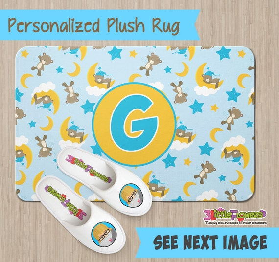 Personalized Plush Rug