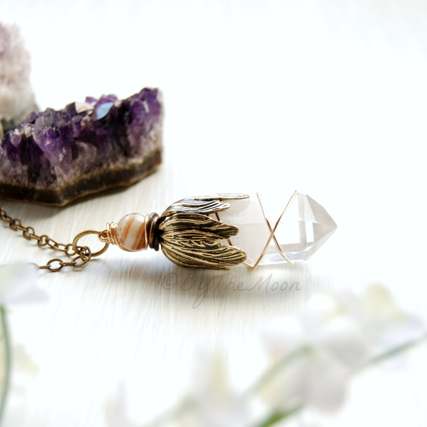 how to clean quartz crystal jewelry