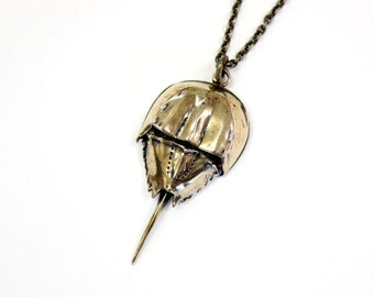 Horseshoe Crab Necklace 064
