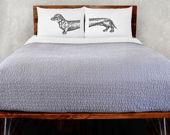Dachshund Pillowcase Set