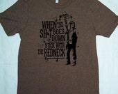 Clearance-- Daryl Dixon Men's Heather Brown Tshirt