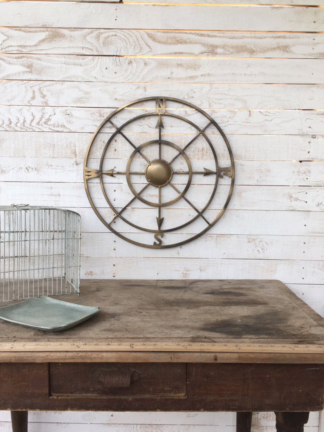 nautical metal wall decor nautical wall decor metal compass wall by camillacotton 564