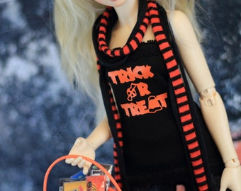 Limited Halloween Shirt and Scarves Set for Minifee bjd - FREE US Shipping on this item!