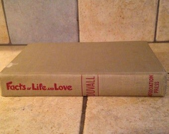 1953 Facts of Life and Love Antique Book