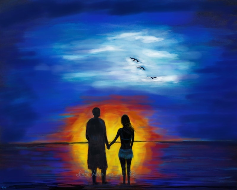 Couples Paintings Ideas