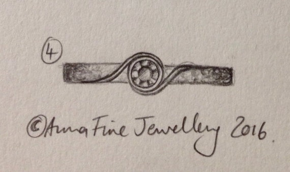 Custom listing for Laura Williams - Deposit for bespoke palladium engagement ring.