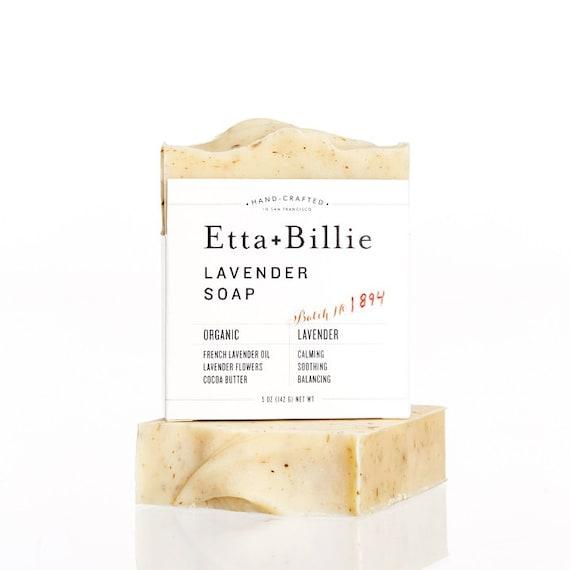 Lavender Soap Organic Ingredients 5 oz