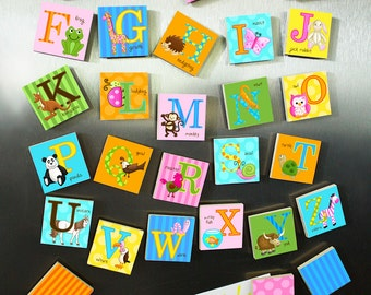 Kids Animal Alphabet Magnets Learn Your ABC's MG0002
