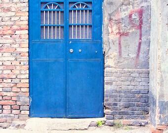 Blue Door Photography, Door Art, Door Picture, Olympian Blue, Architecture Photography, Rustic Decor, Pantone Blue, China Travel, Beijing