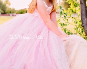 NEW! The Grace Dress in 'Rose Princess' - Flower Girl Tutu Dress