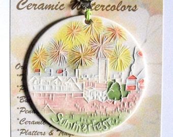 SUMMERFEST Ornament
