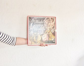 The Worlds Greatest Waltzes . Vienna State Opera Orchestra 3 record set .sale s a l e