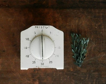 Vintage Cooking Timer, Prestige Egg Timer, Cream Kitchen, Rustic Kitchen, Farmhouse, Shabby Chic