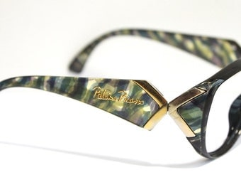 Paloma Picasso 3773 Designer Eyeglasses //  Made in Austria by OPTYL // 1980s Frames // 80s 90s Tortoiseshell // #M648 // (EB)
