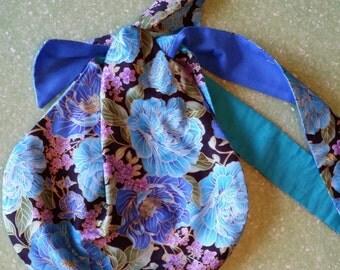 Reversible hobo bag, purse, handbag, shoulder bag