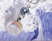 Sparkling All Around - Si Opal Druzy Blue Topaz Combination  DC 8661